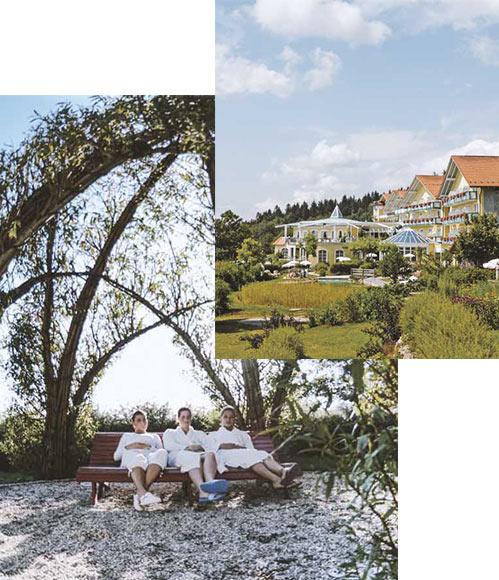Wellnessurlaub im Bayerischen Wald - unser Wellnesspark