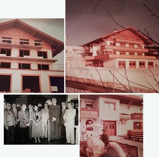 Der Angerhof im Jahr 1985 in Sankt Englmar