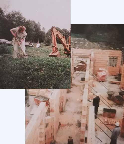 Der Angerhof im Jahr 1995 in Sankt Englmar
