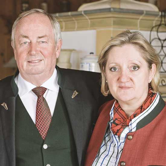 Maria & Franz Wagnermayr - Besitzer des Angerhof in Sankt Englmar