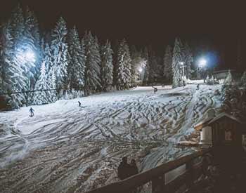 Skigebiet Hochproeller: Ausgangspunkt zum Skilanglauf Bayerischer Wald