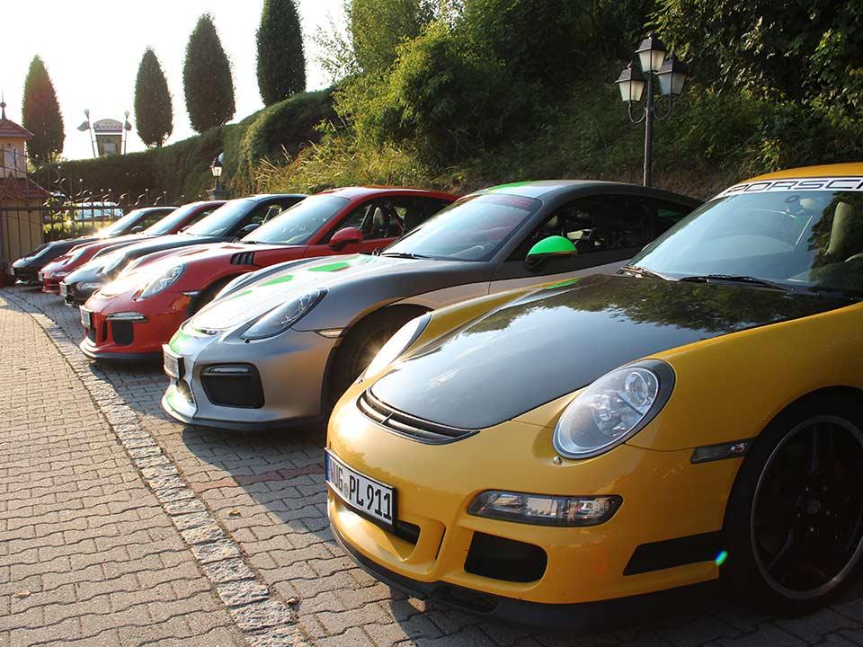 Porsche Ausfahrt mit Walter Röhrl im Wellnesshotel Angerhof