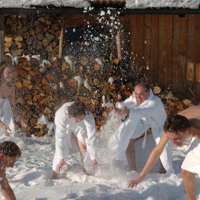 Winter Impressionen im Wellnesshotel Angerhof in Sankt Englmar im Bayerischen Wald
