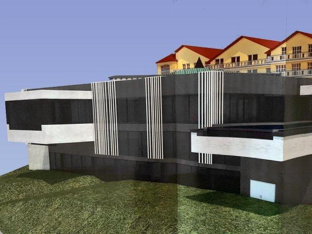 Hotelerweiterung Südfassade